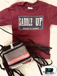 Saddle-Up Adult Western Graphic Tee