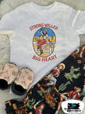 Strong Willed Big Heart Kids Western Tee