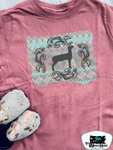 The Sweet Stock Show - Goat Kids Western Tee