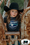 Top Hand HQ Midnight Kids Western Graphic Tee