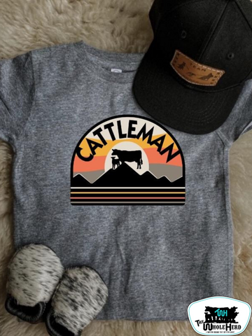 Cattleman Adult Western Graphic Tee