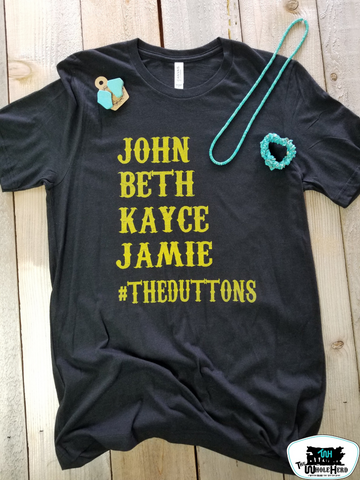 #THEDUTTONS Adult Western Graphic Tee