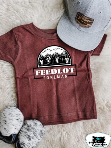 Feedlot Foreman Adult Western Graphic Tee