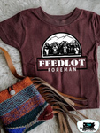 Feedlot Foreman Kids Western Graphic Tee