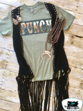 Punch Adult Western Graphic Tee