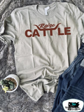 Raise Cattle Adult Western Graphic Tee
