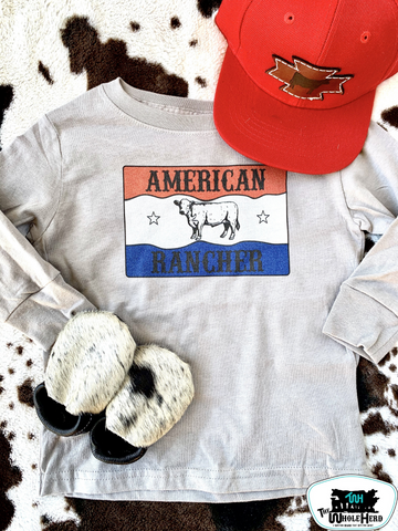 American Ranch Adult Western Graphic Tee