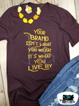 The Brand Adult Western Graphic Tee