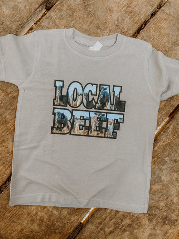 Local Beef Kids Western Graphic Tee