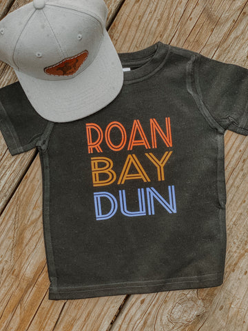Roan Bay Dun Kids Western Graphic Tee