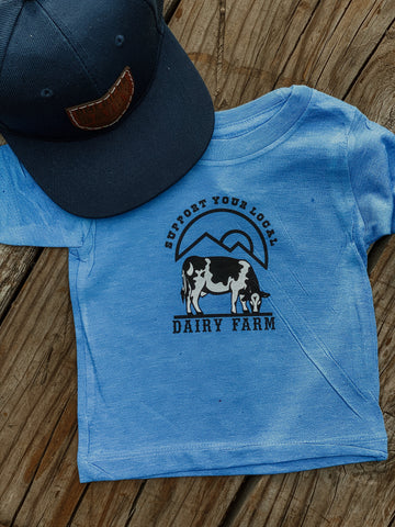 Dairy Farms Kids Western Graphic Tee