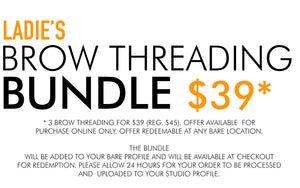 LADIE'S BROW THREADING SERIES