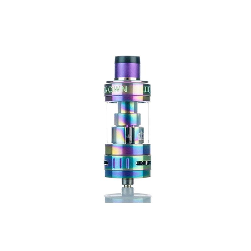 Uwell Crown 3 Sub Ohm Tank in Iridescent Rainbow Stainless Steel at Eightvape.com