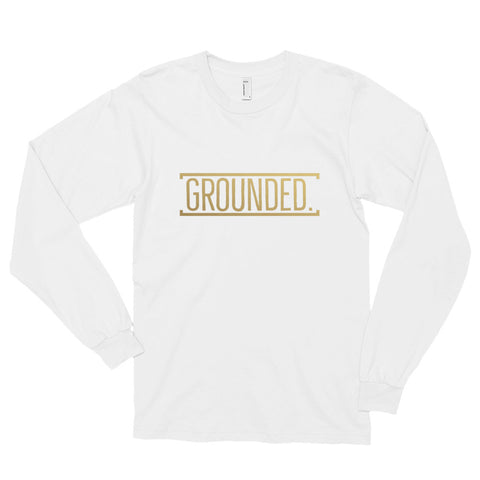 Grounded Long Sleeve T-Shirt  - Gold