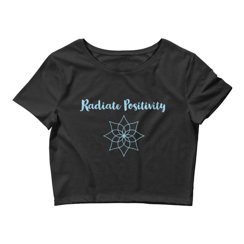 Radiate Positivity Women's Crop Tee