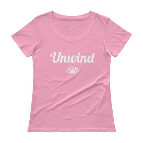 Unwind Ladies' Scoopneck T-Shirt