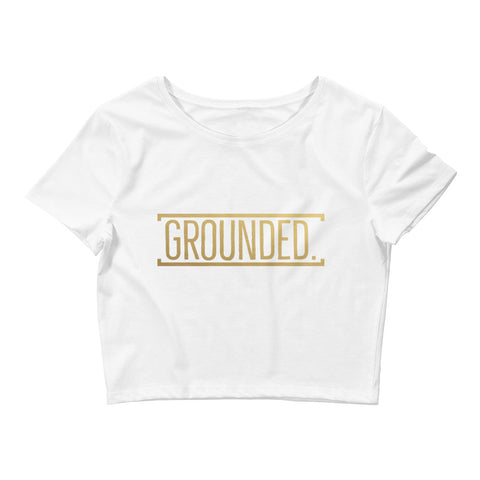 Grounded Women's Crop Tee