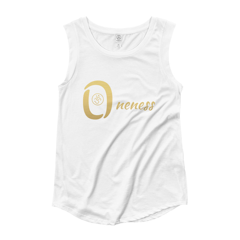 Oneness Ladies' Cap Sleeve T-Shirt