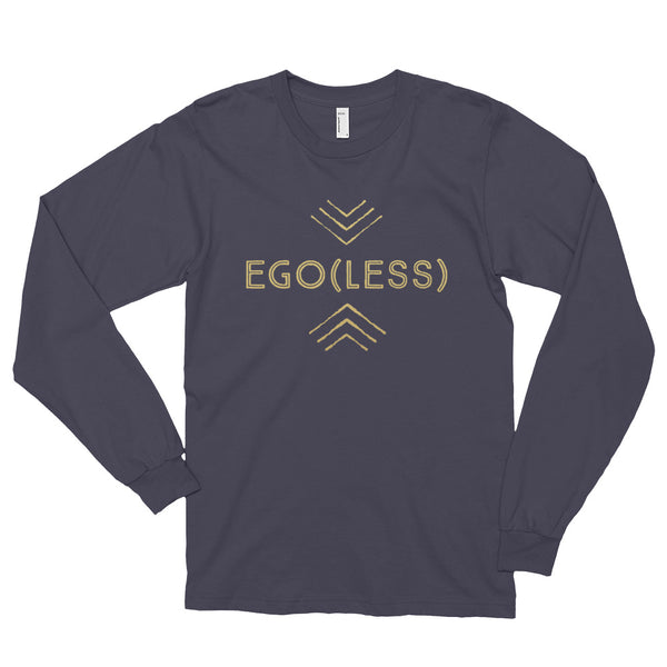 Ego(Less) Long Sleeve T-Shirt  - Gold