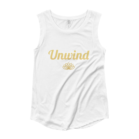 Unwind Ladies' Cap Sleeve T-Shirt