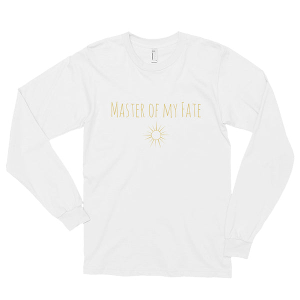 Master Of My Fate Long Sleeve T-Shirt