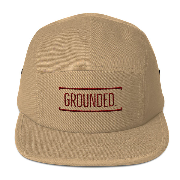Grounded 5-Panel Hat