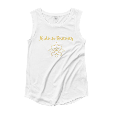 Radiate Positivity Ladies' Cap Sleeve T-Shirt