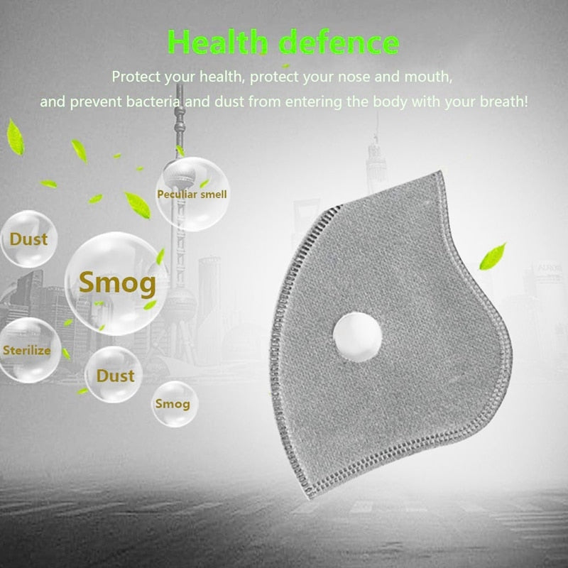 10 PCS OF PAPER REPLACEMENT FILTER FOR MASK