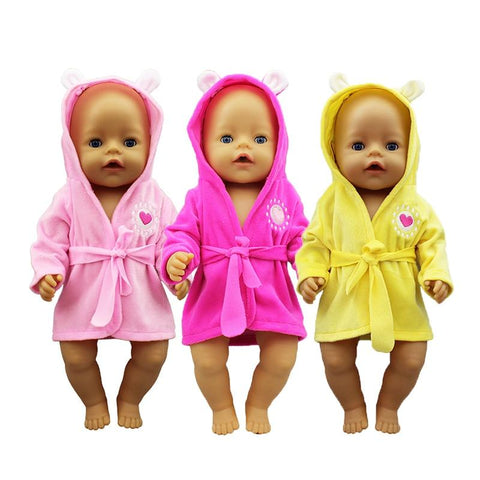 New Bathrobe, Baby Doll Clothes