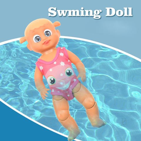Water Fun Swimming Pool For Waterproof Electric Doll Best Gift Toy