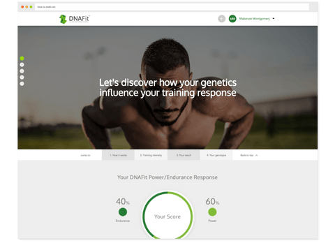 Follow a more personalized workout program based on your genetic fitness profile.