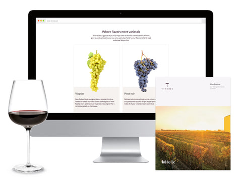 Let us introduce you to wines you'll love, selected with your DNA in mind.