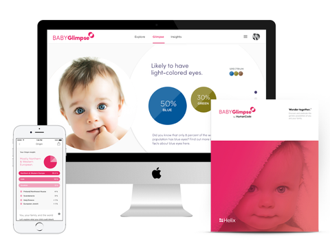 Access your BABYGlimpse on the web or by using the app for iPhone & iPad.