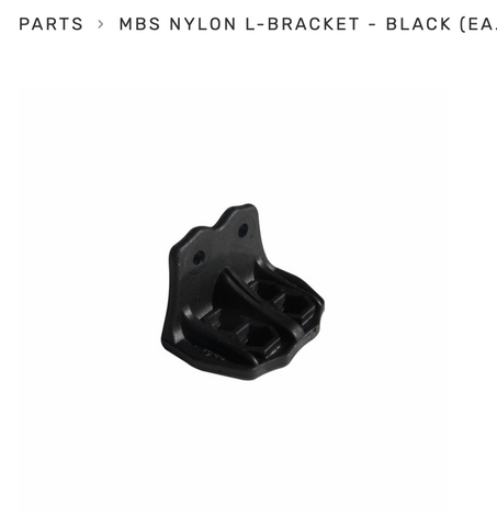 MBS Nylon Bracket for F style bindings (1) - hyper ion systems