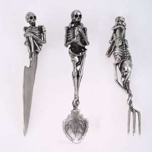 Handmade skull Skeleton Cutlery Sets  *LIMITED EDITION*