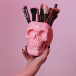 SKULL MAKEUP BRUSH HOLDER *FREE SHIPPING*