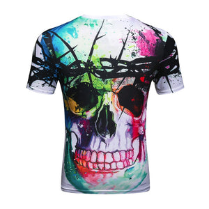 Colorful Skull T-Shirt