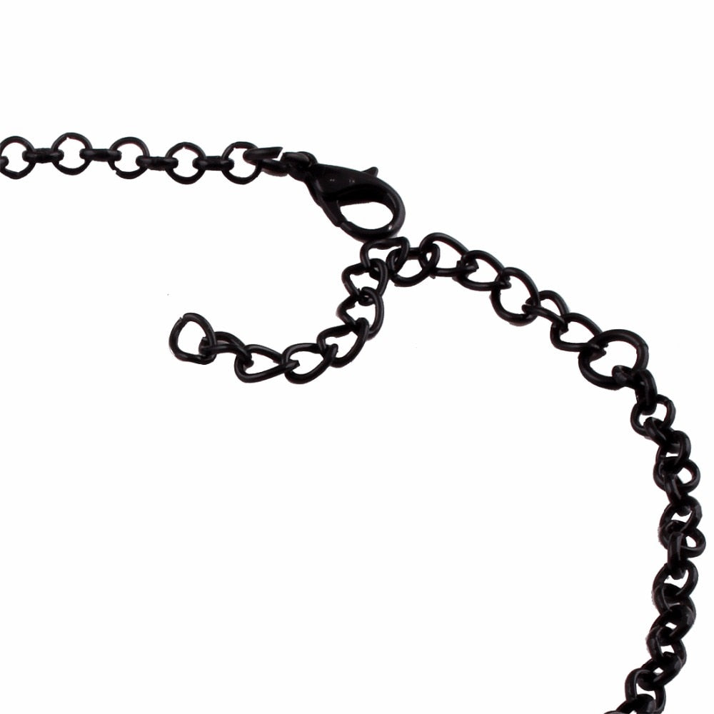 Black Eclipse Necklace