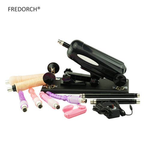 FREDORCH Updated Version Stronger Sex Machine Gun with Dildo Automatic Sex Machines for women love machine sex toys Vibrator