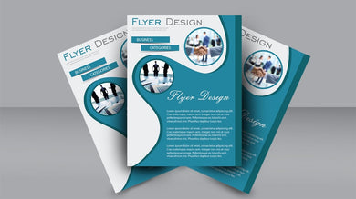 Flyer Design, Single & Double Sided