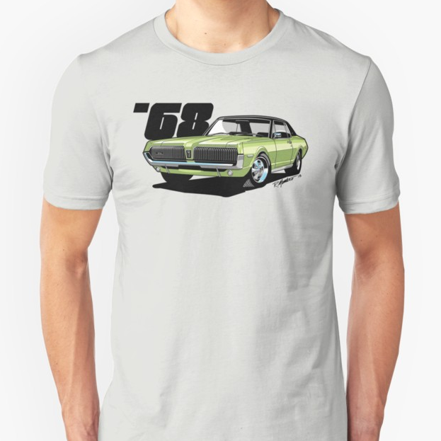1968 Mercury Cougar, available now in several colors