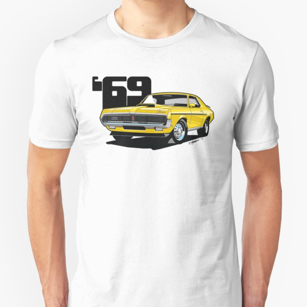 1969 Mercury Cougar, available now in several colors