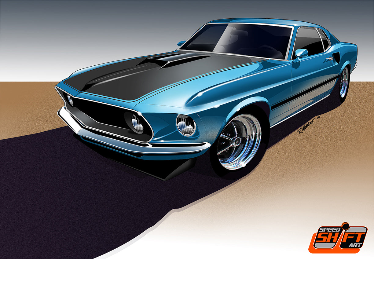 1969 Mustang Mach 1, available now