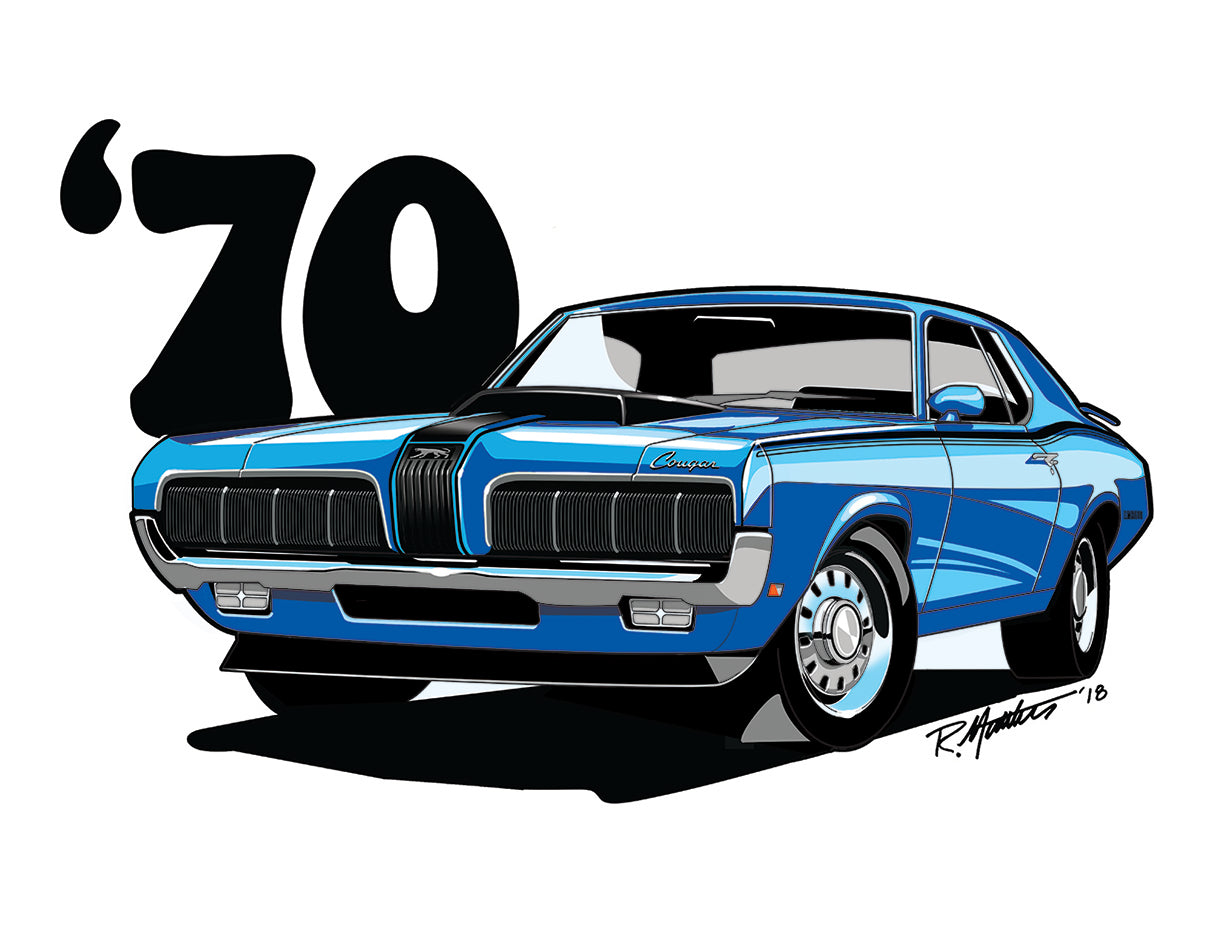1970 Mercury Cougar, available now