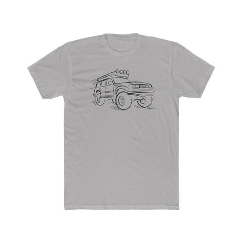 Just Cruisin' Land Cruiser Tee- Black design