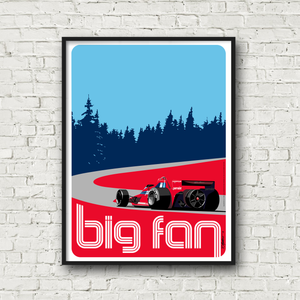 "Brabham BT46B ""Big Fan"" Poster"