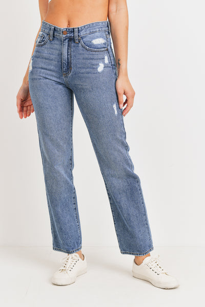 Dad Jeans Distressed