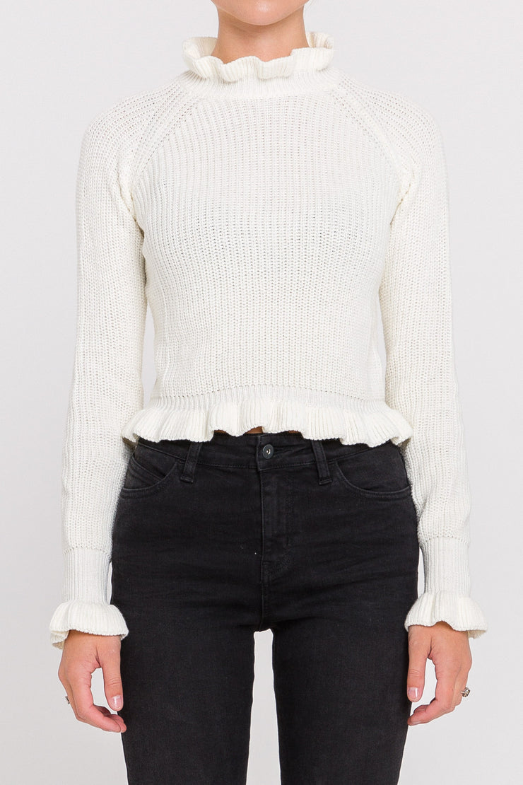 Cute Crop Sweater
