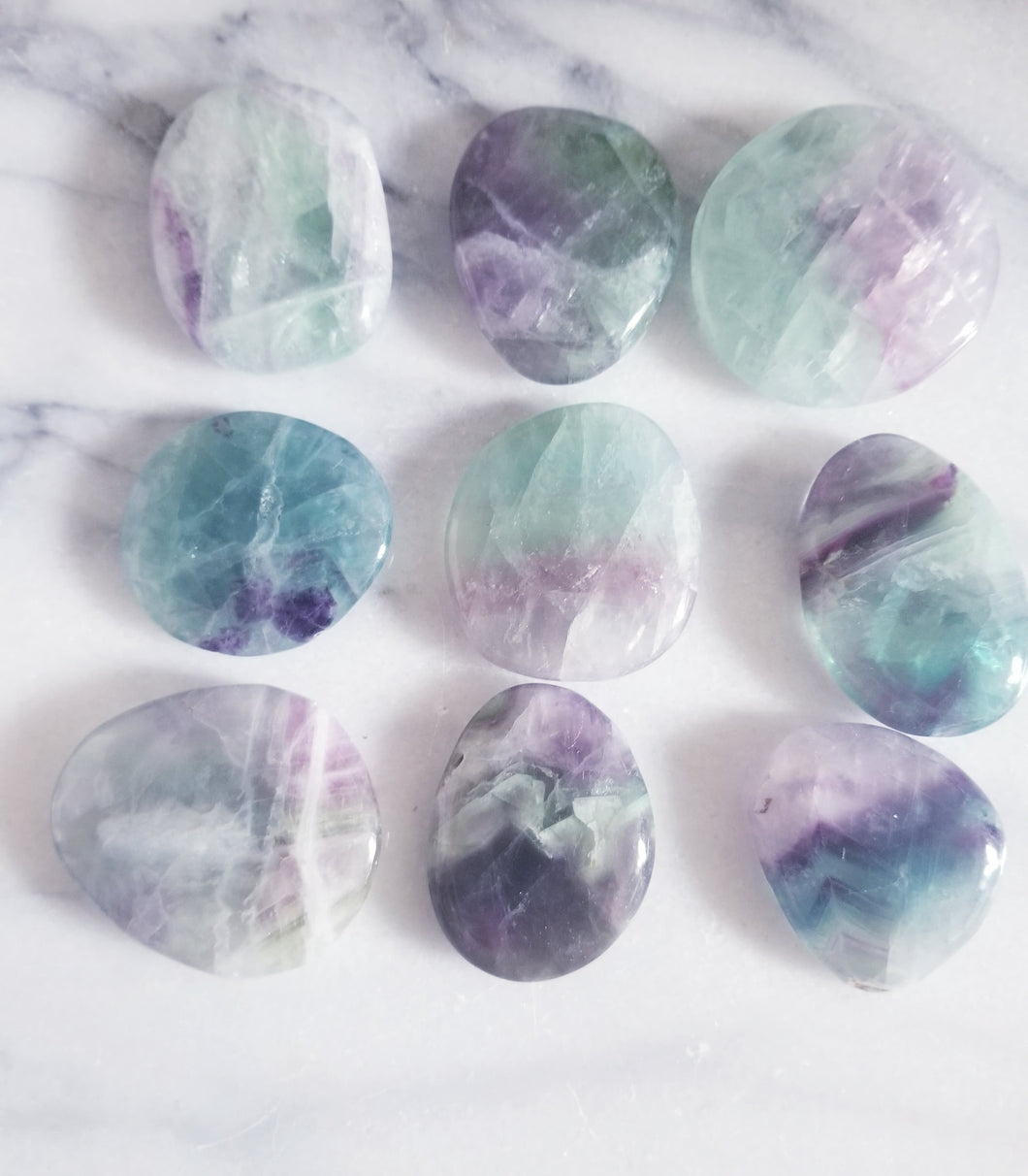 Fluorite Pocket Stones (Small Size)