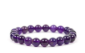 10mm Amethyst Stretch Bracelet